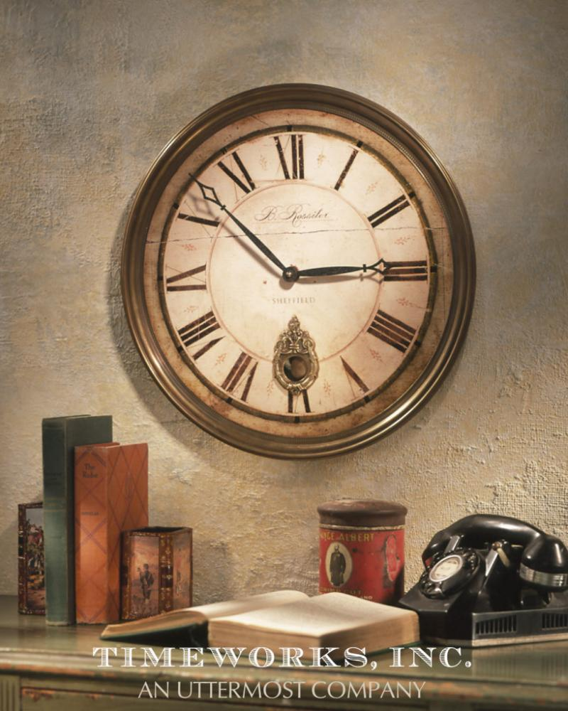 Wilkinson's House of Lighting in St.George, Utah, United States, Uttermost 06036, Clock,