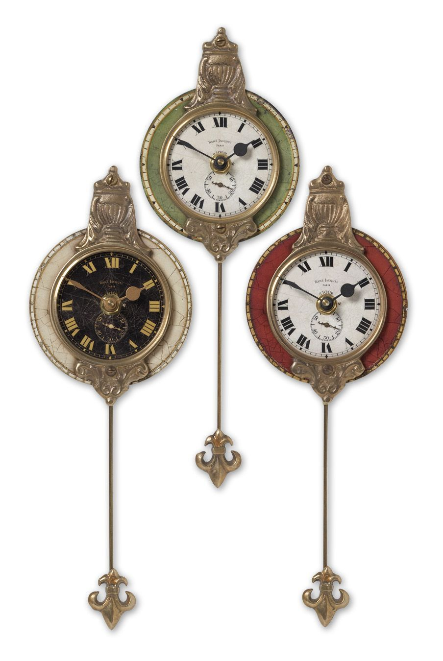 Wilkinson's House of Lighting in St.George, Utah, United States, Uttermost 06046, Uttermost Monarch Wall Clock Set/3, Monarch
