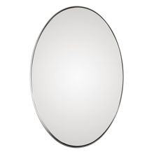 Uttermost 09354 - Uttermost Pursley Brushed Nickel Oval Mirror