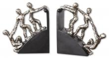 Uttermost 20494 - Uttermost Helping Hand Nickel Bookends, Set/2