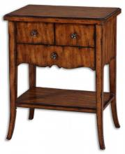 Uttermost 24140 - Uttermost Carmel Wood End Table