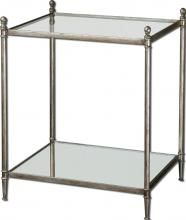 Uttermost 24282 - Uttermost Gannon Mirrored Glass End Table