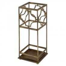 Uttermost 24553 - Uttermost Genell Gold Iron Umbrella Stand