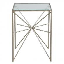 Uttermost 24631 - Uttermost Silvana Silver Side Table