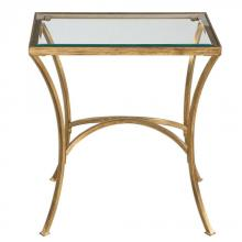 Uttermost 24641 - Uttermost Alayna Gold End Table