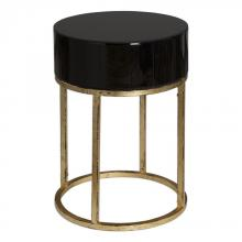 Uttermost 24642 - Uttermost Myles Curved Black Accent Table
