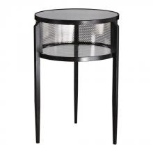 Uttermost 24724 - Uttermost Gustav Black Iron Accent Table