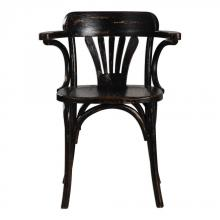 Uttermost 24728 - Uttermost Huck Black Accent Chair