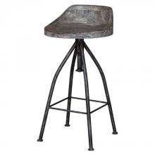 Uttermost 25726 - Uttermost Kairu Wooden Bar Stool